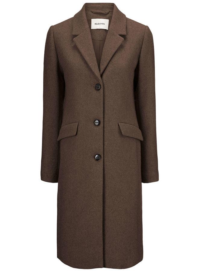 Pamela coat | chipmunk