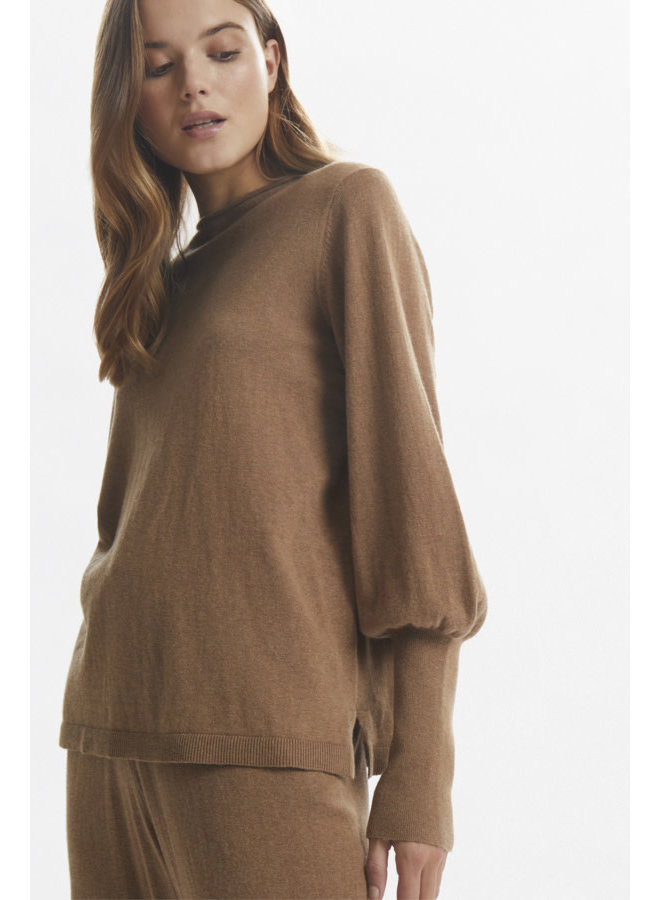 LNSage Knit Pullover BCI | toasted coconut