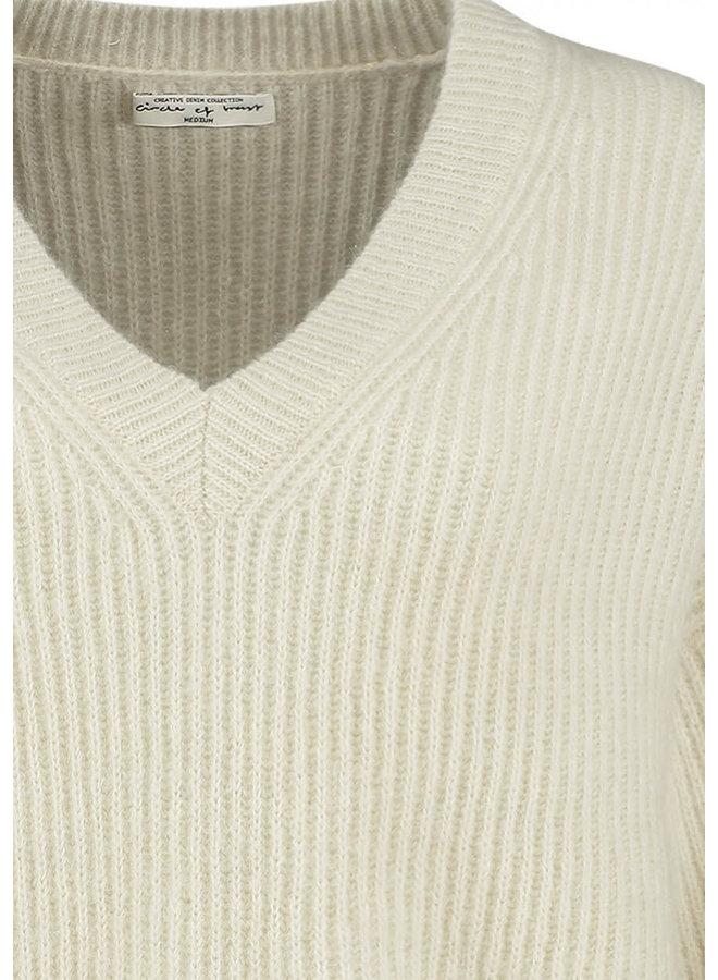 EMMY KNIT | antique white
