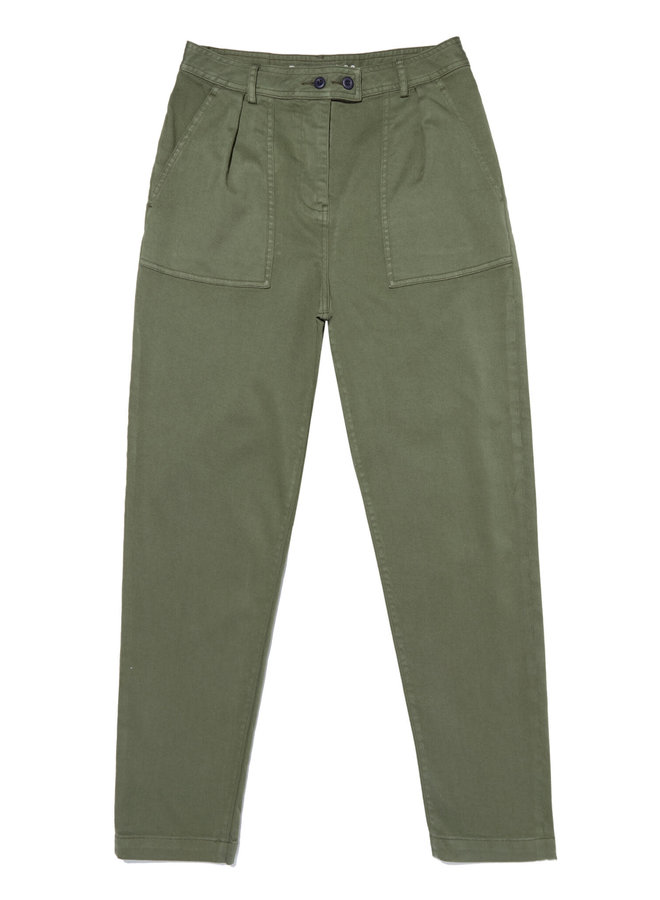 JODIE PANT BLCTS   army green