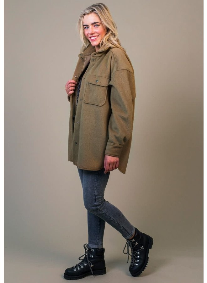 MARLY JACKET   cozy brown