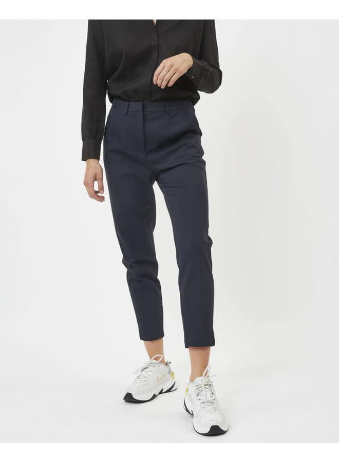 marisu casual pants | navy blazer