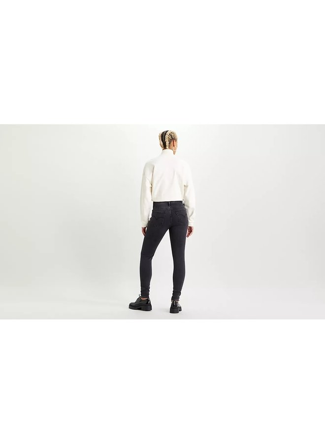 52797-0185 High Rise Super Skinny - smoked out