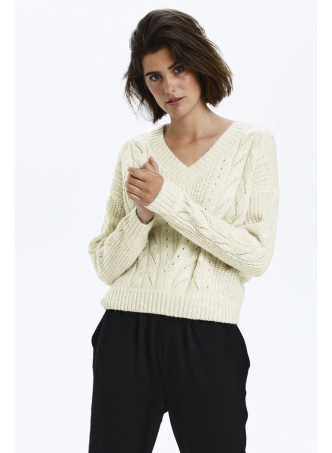 LNBaya Knit Pullover RWS | rainy day melange