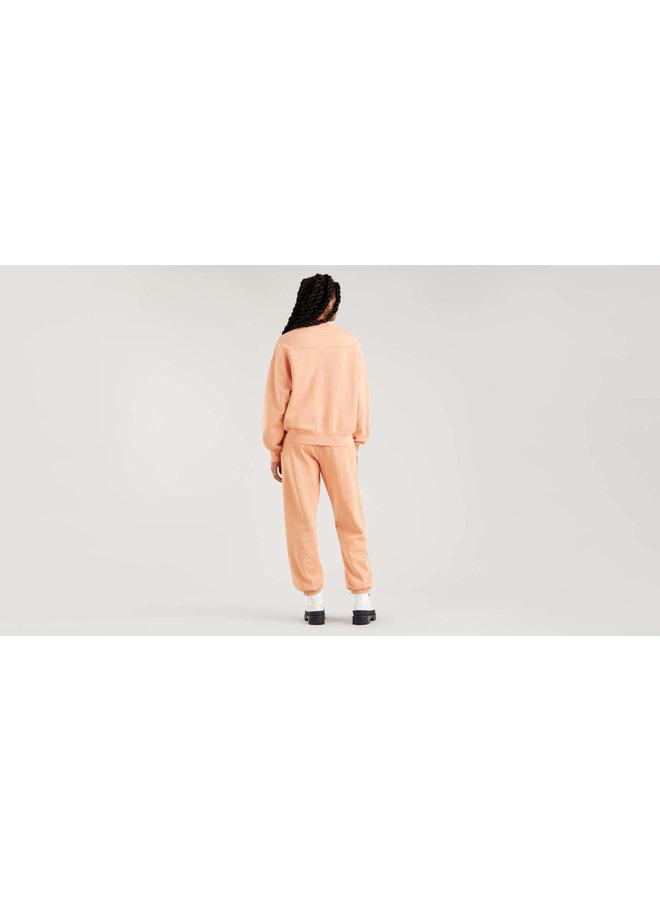 A0886-0006 WFH SWEATSHIRT | peach bloom garment dye