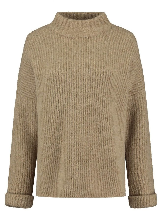 MICA KNIT | funky brown