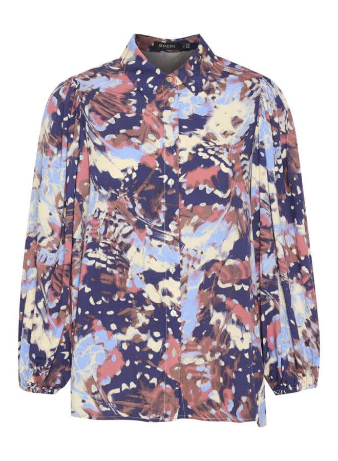 SLMayana Stefani Shirt | fall garden print