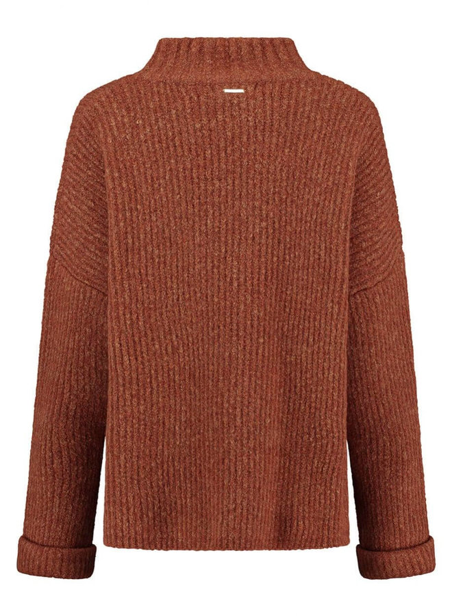 MICA KNIT   bombay brown