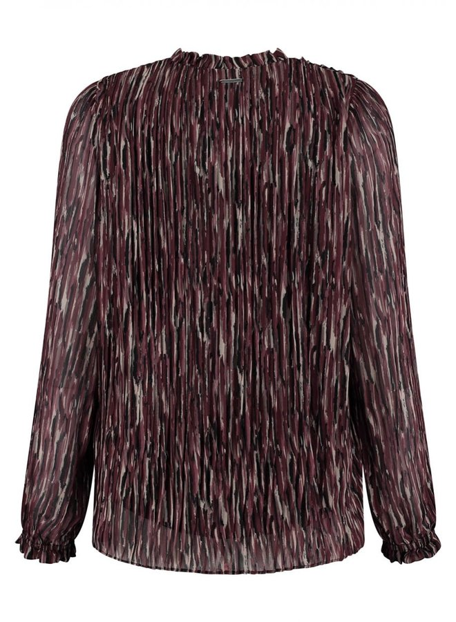 DAISY BLOUSE | strong stripes print