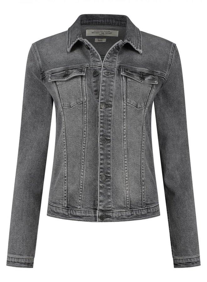 Mara Dnm Jacket   stone grey