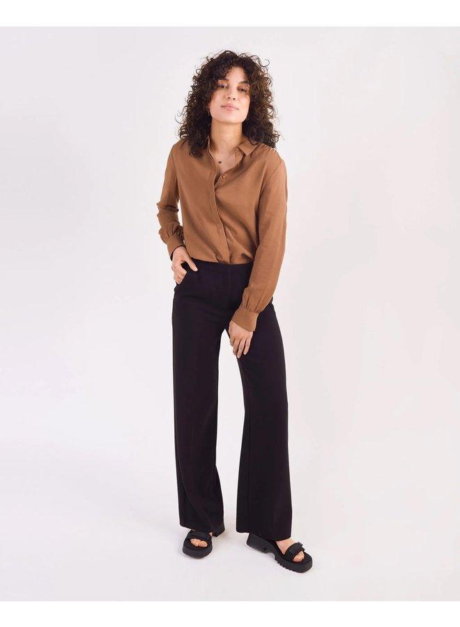 Moore pleated pants  black