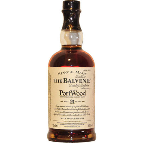 The Balvenie 21 YO finished in Portwood