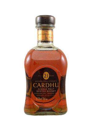 The Cardhu Distillery Cardhu 21YO Naturel cask strength