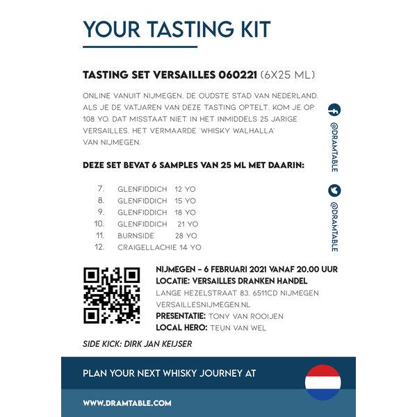 Tasting set Versailles