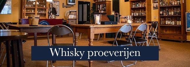 Whisky en whiskey - groot assortiment op voorraad - ook proeverijen - Versailles Nijmegen