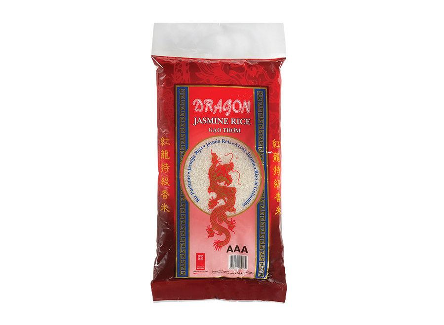 Red Dragon - Jasmijn Rijst 4,5  KG