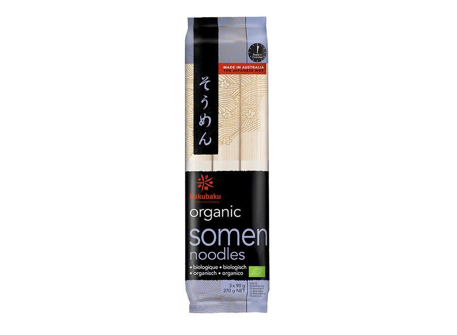 Hakubaku Organic Somen 270 G