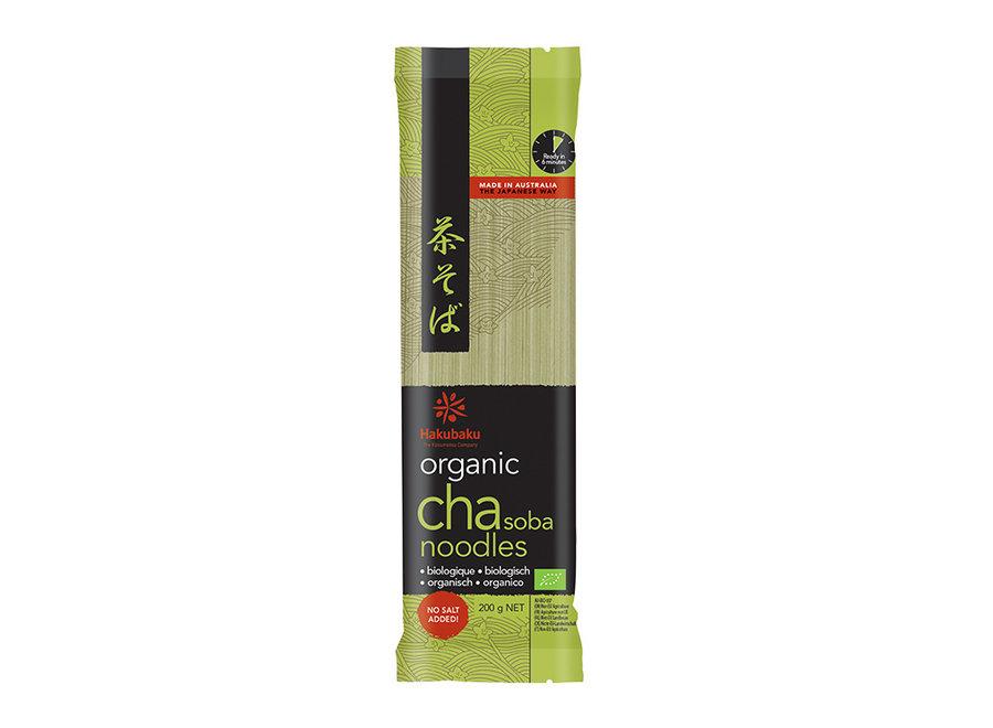 Hakubaku Organic Cha Soba 200 G
