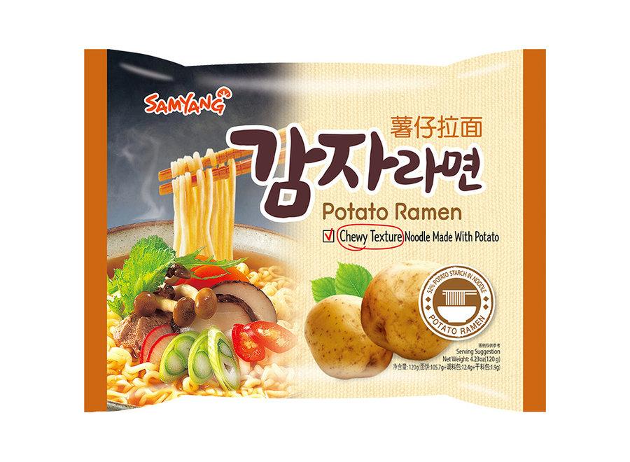 Samyang Potato Ramen 5X120 G