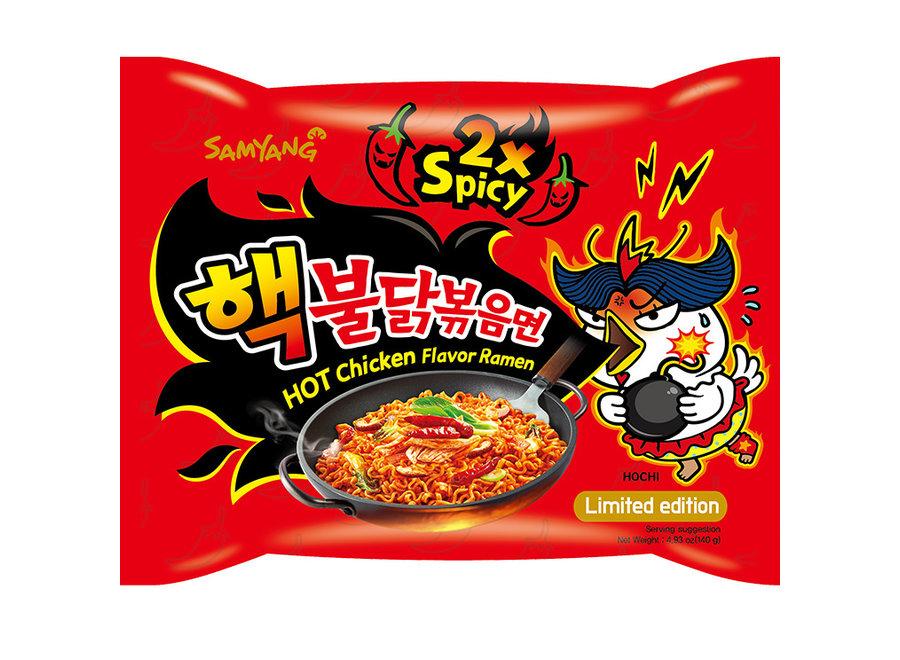 Samyang 2X Spicy Hot Chicken 5X140 G
