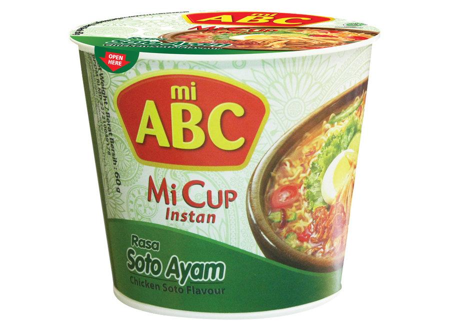 Mi Cup Noodles - Soto Chicken - ABC