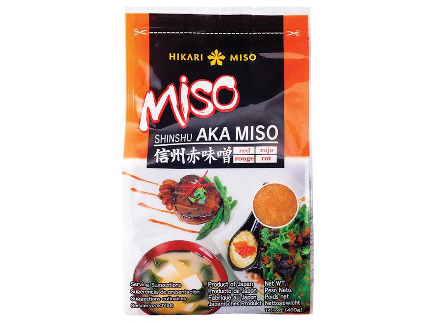 Hikari Miso Soybean Paste Red Aka Miso 400 G