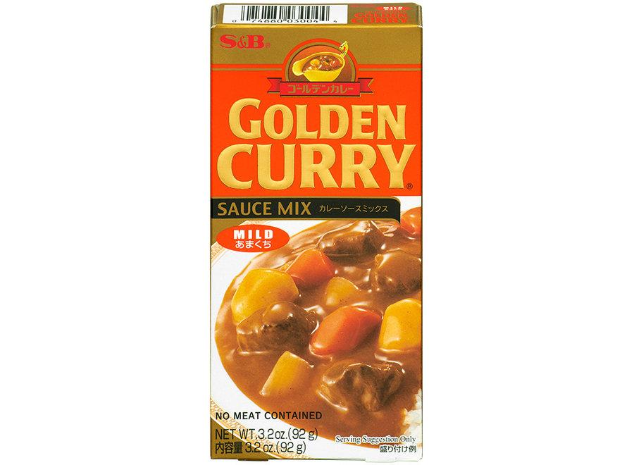 S&B Golden Curry Mild 92 G