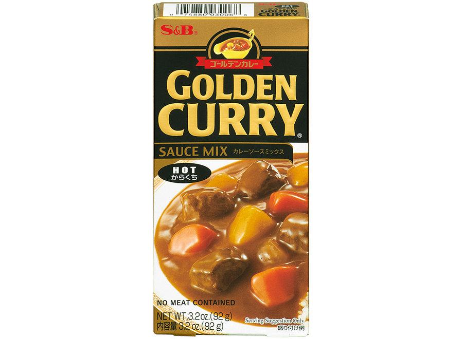 S&B Golden Curry Hot 92 G
