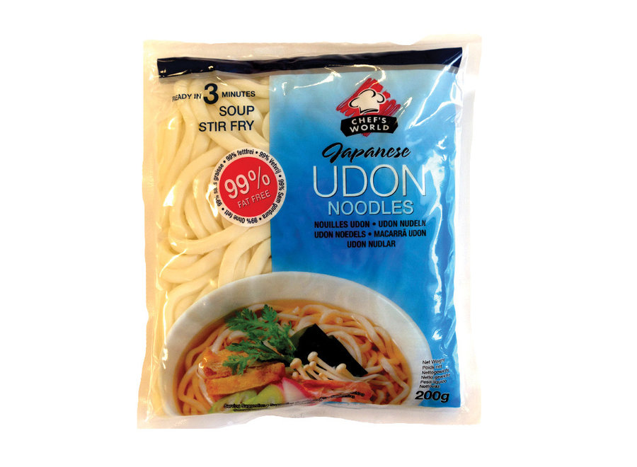 Chef's World Japanese Udon 200 G