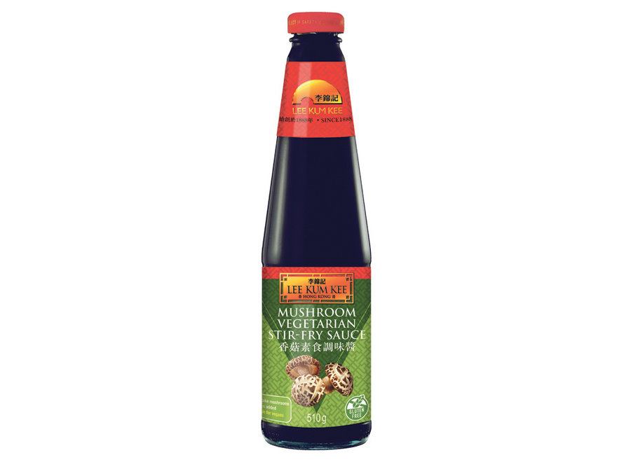 LKK Mushrooms Vegetarian Stir Fry Sauce 510 G