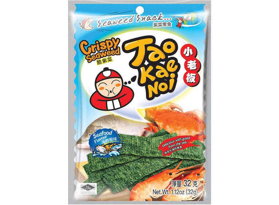 Tao Kae Noi Crispy Seaweed Seafood 32 G