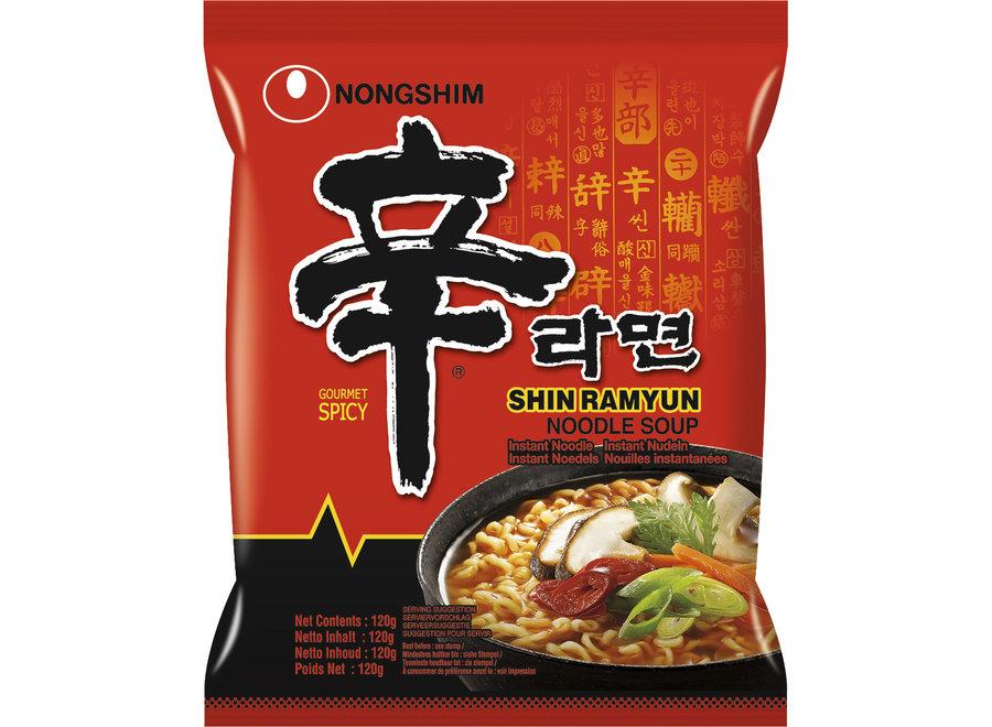 Nongshim - Koreaanse Hete Noodles - Shin Ramyun