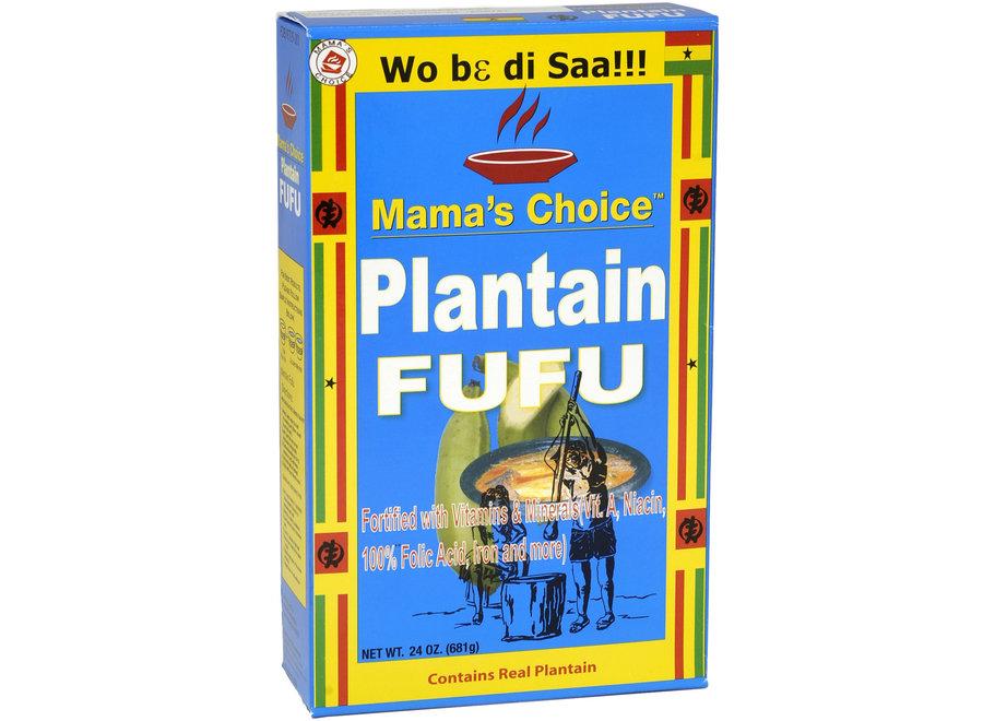 Mama's Choice Plantain Fufu 681 G