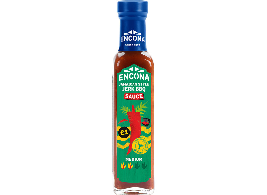 Encona Jamaican Jerk bbq Sauce 142ML
