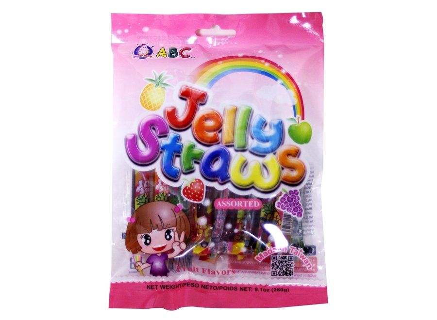 ABC Jelly Fruit Jelly Sticks 260 Gr