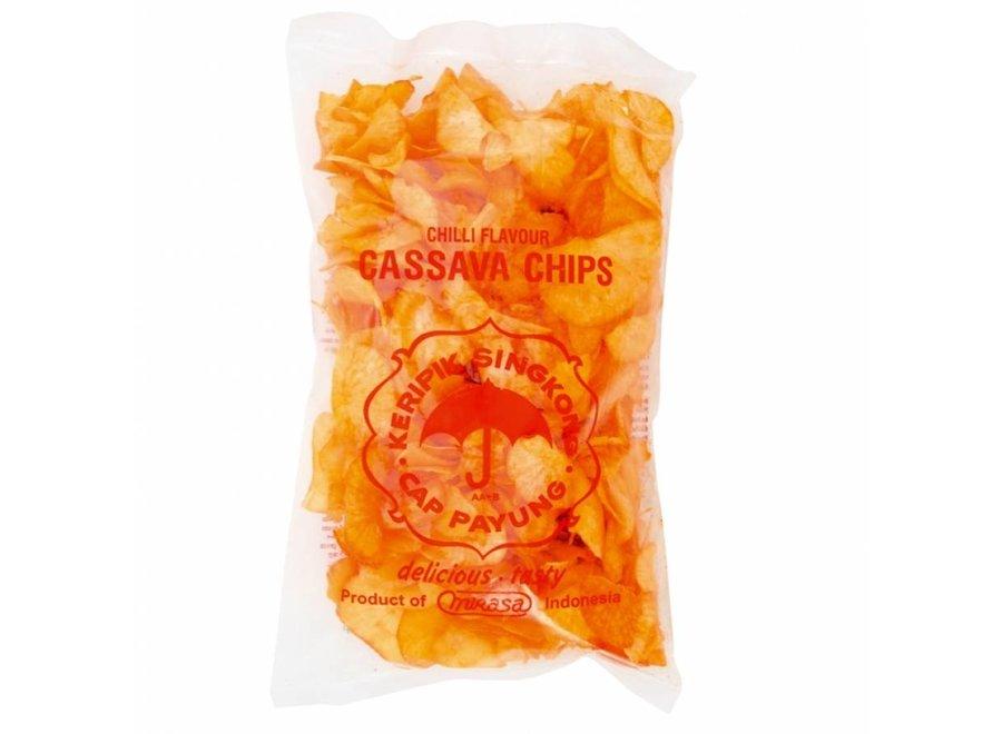 Keripik Singkong Salted Hot Cassava Chips 250 Gr