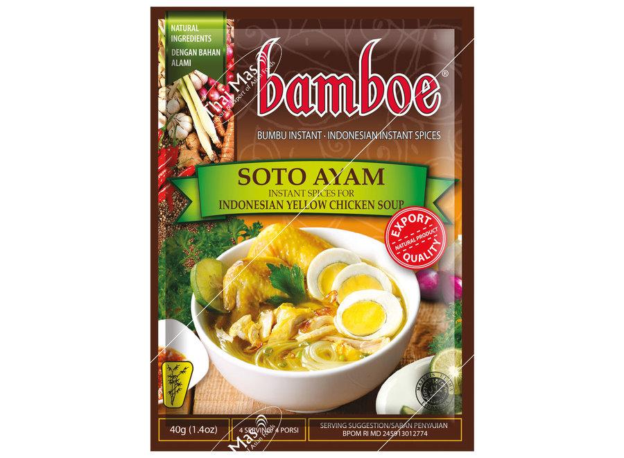 Bamboe Bumbu Soto Ayam 40 G.