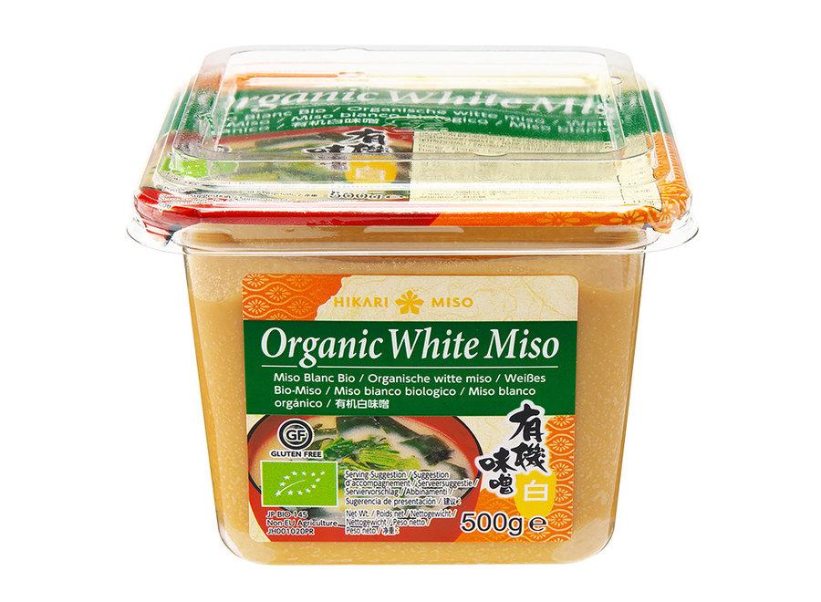 Hikari Miso Organic White Miso Paste 500 G.