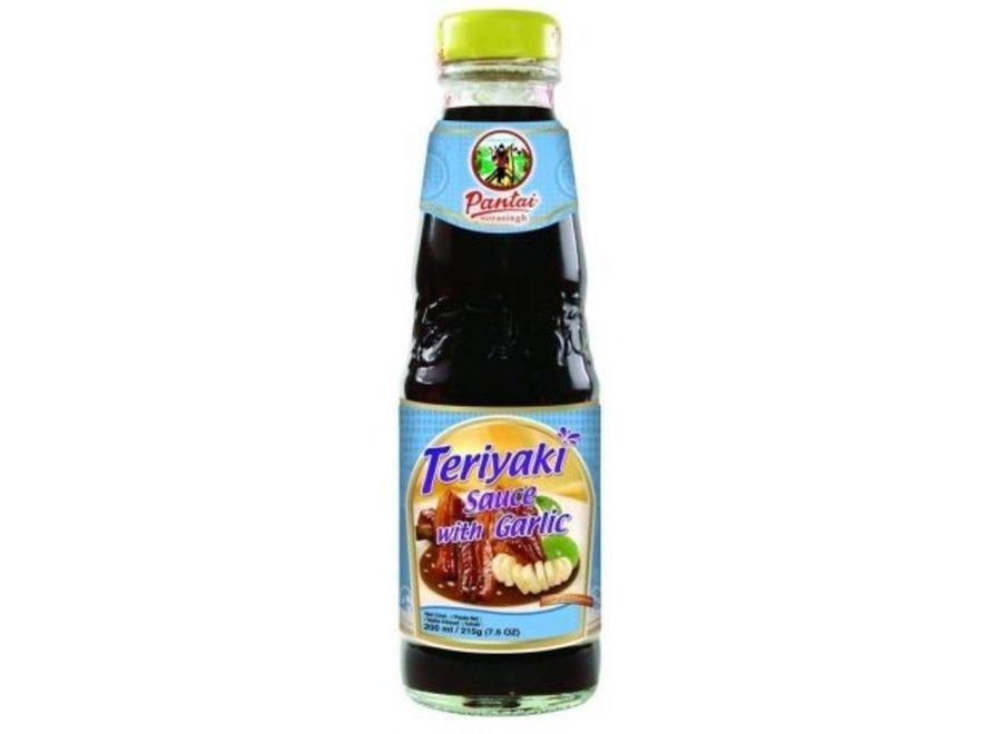 Pantai Teriyaki Sauce with Garlic 300 ML.