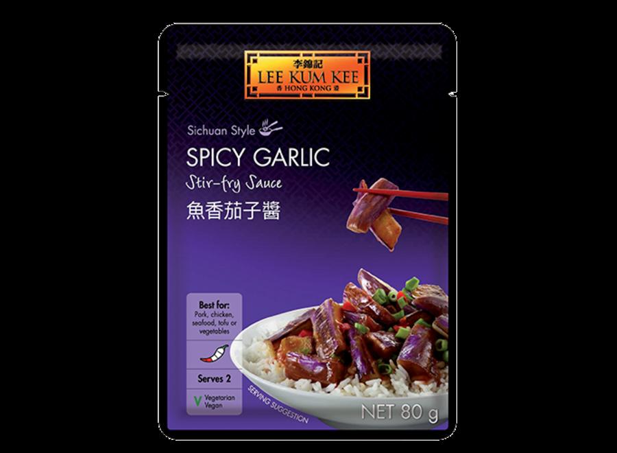 LKK MOS Spicy Garlic Stir-Fry Sauce 80 G.