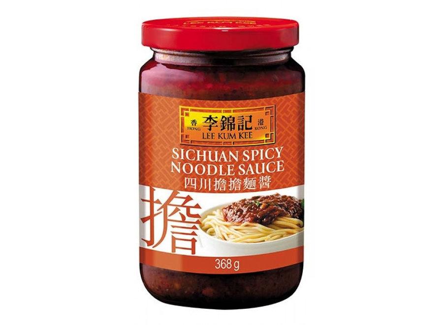 LKK Sichuan Spicy Noodle Sauce 368 G.