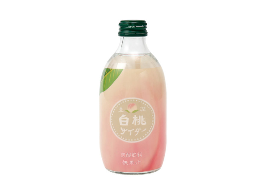 Tomomasu Juicy White Peach Cider 300ML