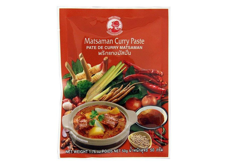 Cock Brand Massaman Curry Paste 50g