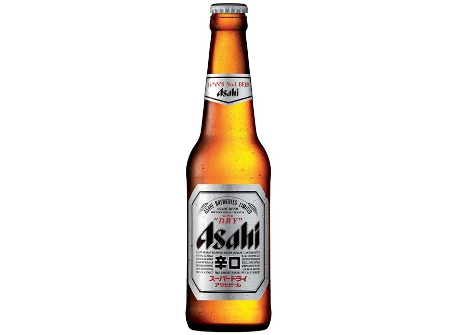 Asahi - Bier 5,2% Alcohol