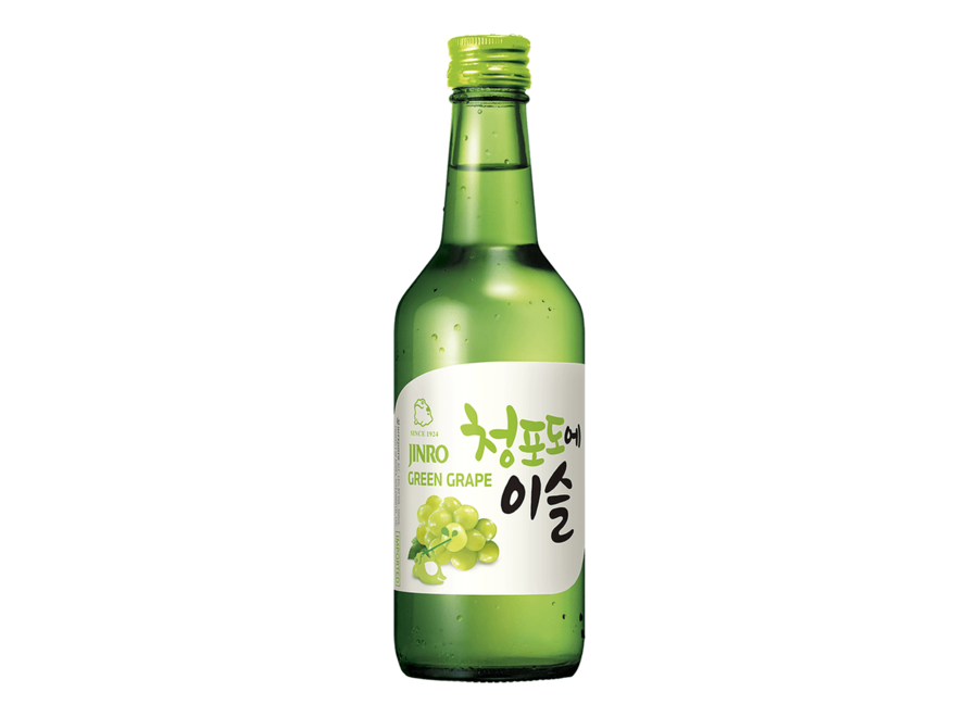 Jinro Soju Druif 13% Alc. 360 ML
