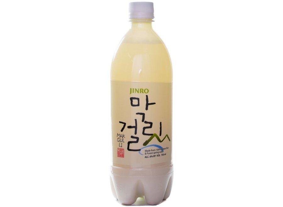 Jinro Makgeolli Rijst Wijn 6% Alc. 750 ml