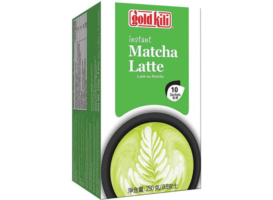 Gold Kili Instant Matcha Latte 10 X 25 GR