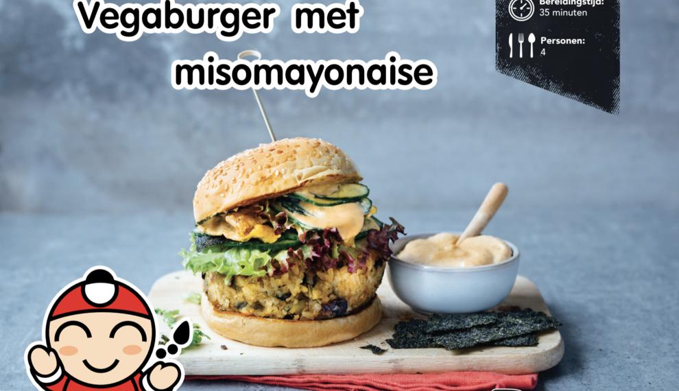 Vegaburger met Misomayonaise - TKN Recepten