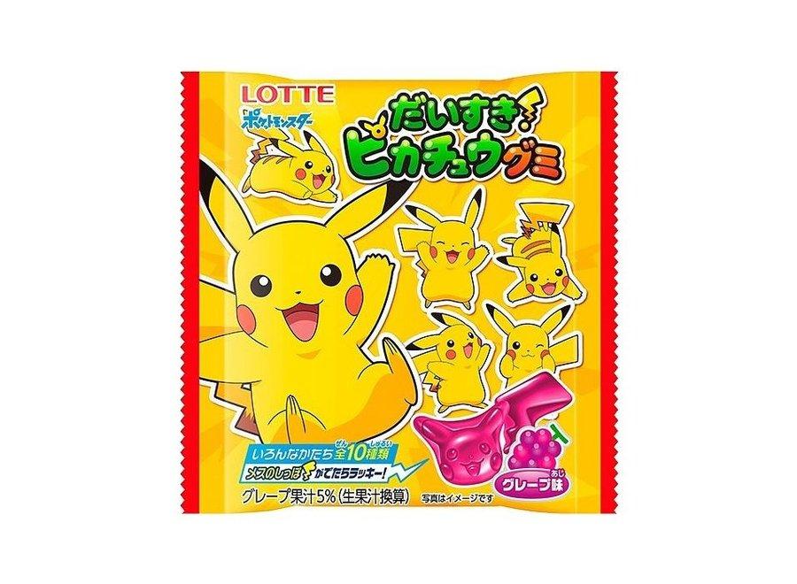 Lotte Daisuki! Pikachu Gummy 28G