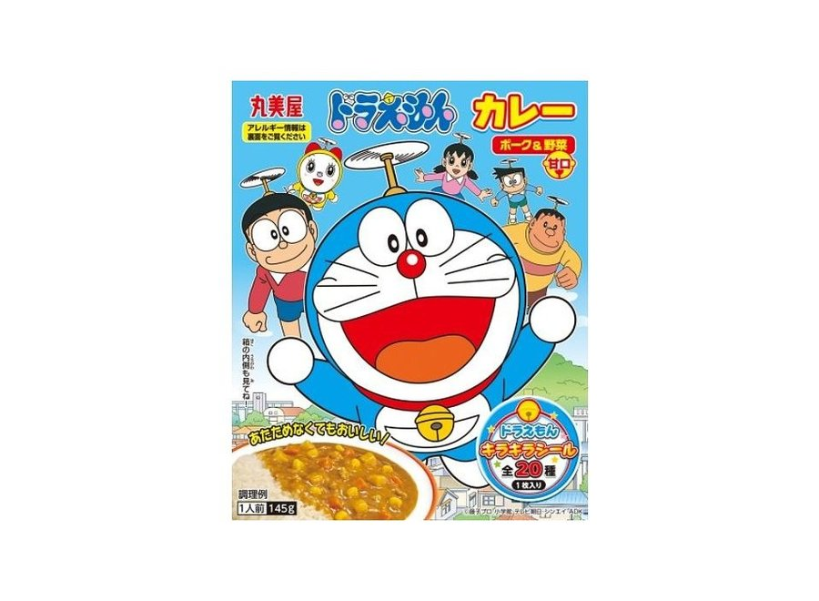 Marumiya Doraemon Instant Curry Pork & Vegetable 160gr